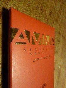 zestig procent reep van Amma chocolade