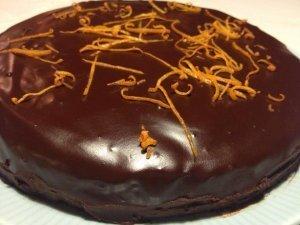 chocolade taart met original beans glazuur