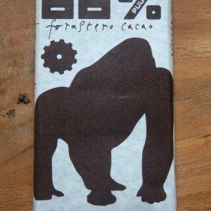 chocolatmakers 68 procent cacao gorilla