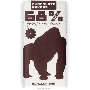 chocolatemakers gorilla bar forastero puur biologisch