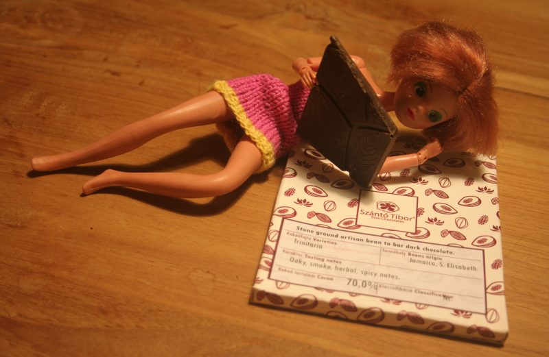 supermodel cindy met chocolade van tibor tzanto