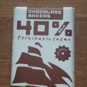 Chocolatemakers 40% chocolade reep tres hombres