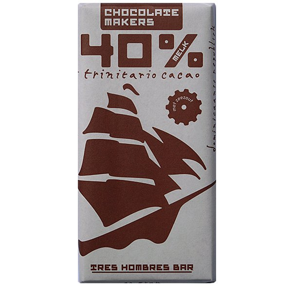 melkchocolade vna chocolatemakers tres hombres 40