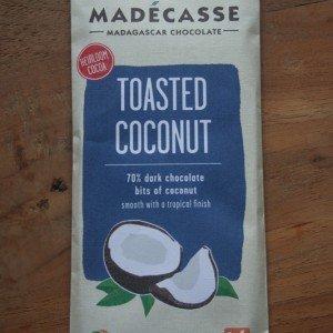 madécasse pure reep met kokos toegevoegd