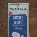 Geroosterde kokos chocolade puur van Madécasse