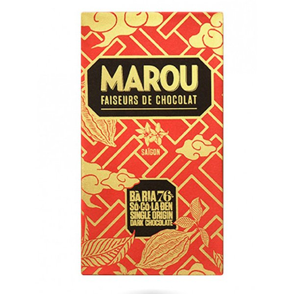 marou ba ria fruity single origin chocolate from marou from vietnam