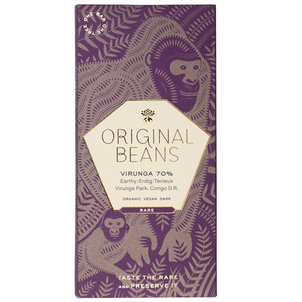 original beans virunga biologische en eerlijke chocoladereep fair en duurzaam verbouwd