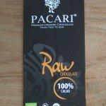 pacari raw 100% chocolade