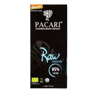pacari raw chocolade biologisch demeter met 85% cacao