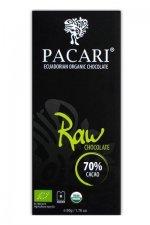 raw chocolade eten mensen ook voor hun gezondheid pacari heeft een prachtige en heerlijke 70% chocolade rauw