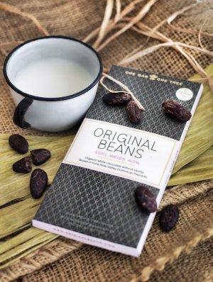 Edel WEiss - witte chocola van Original Beans