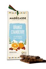 madecasse sinaasappel cranberry
