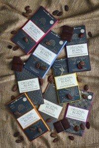 original beans chocoladerepen