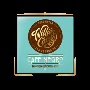 cacao uit colombia met koffiebonen van willie's cacao uit de UK