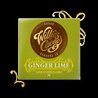 willie's cacao bean to bar uit engeland met gember en limoen