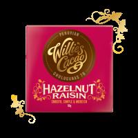 hazelnoot rozijn en pure chocolade uit peru