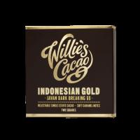 pure chocolade vna willie's cacao uit Java Indonesie