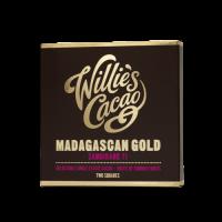 chocolade van willie's cacao uit madagaskar gemaakt in de UK
