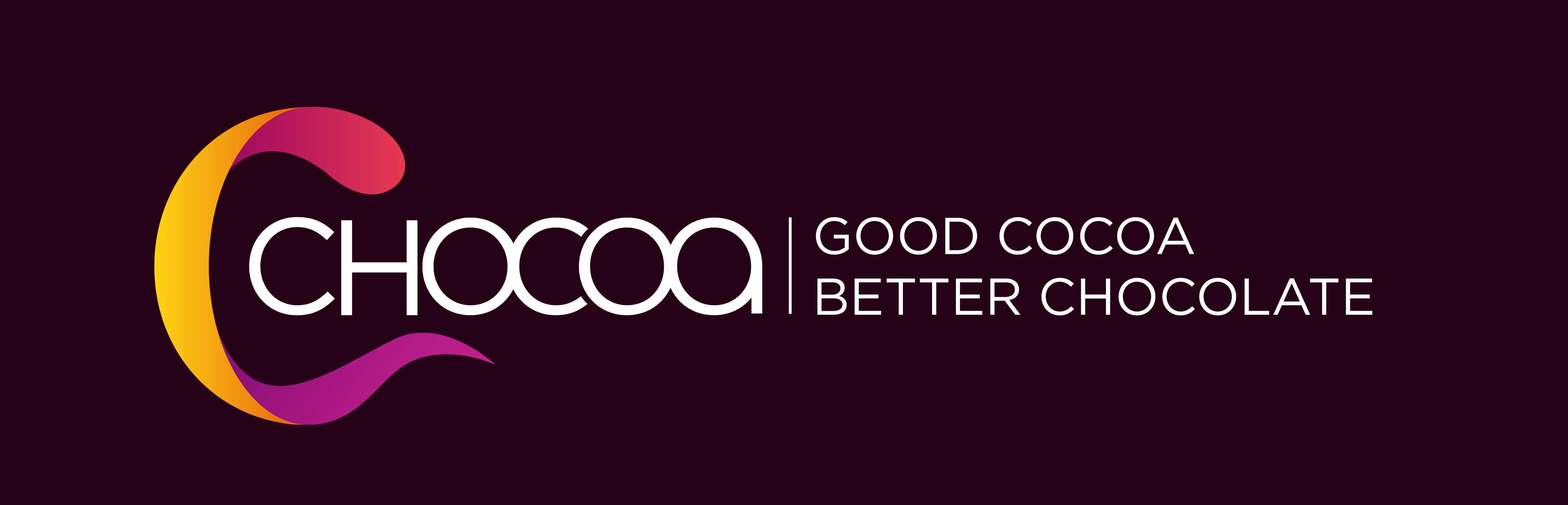 chocoa festival logo good caao better chocoalte