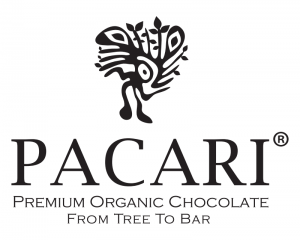 pacari uit ecuador. logo van de organische chocolademakers