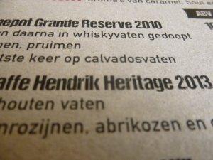 pannepot grande reserve 2010 bierkaart
