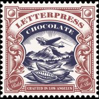letterpress chocolade logo