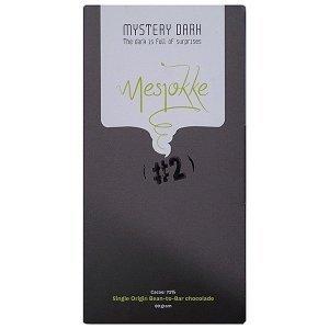 chocoladereep van mystery dark mesjokke