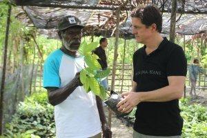 tree nursery philipp kaufmann farmer papua