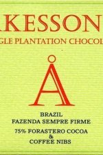 akesson's chocolade single plantation met koffie nibs brazilie