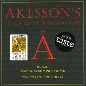 chocolade van akesson's uit brazilie foastero