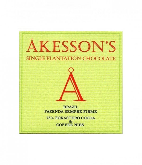 akesson's koffie nibs brazilie chocolade