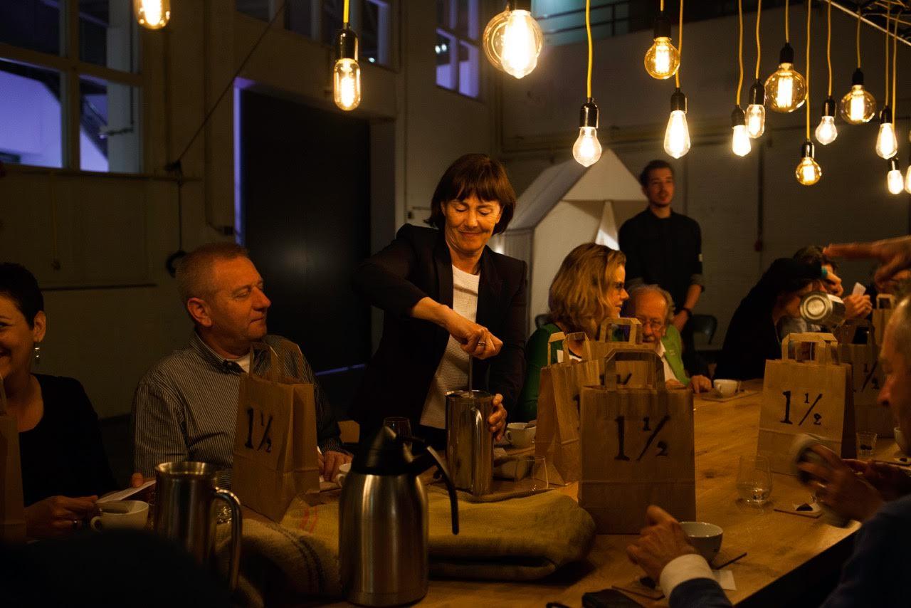chocolade van cacaosuyo bij popup restaurant Anderhalf in Den Bosch