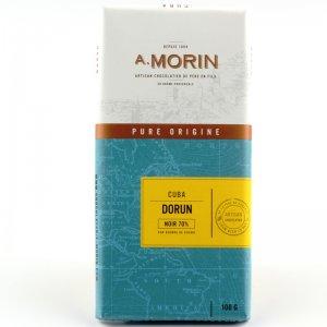 pure origine chocolade uit Cuba van Morin