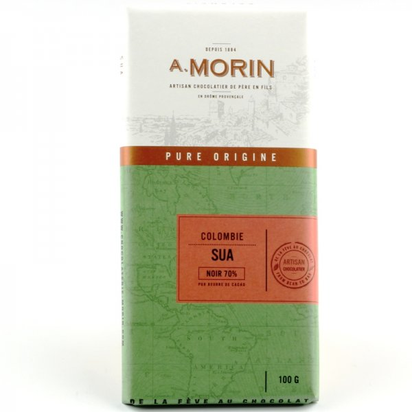 artisan origin chocolate made in france with cocoa from colombia