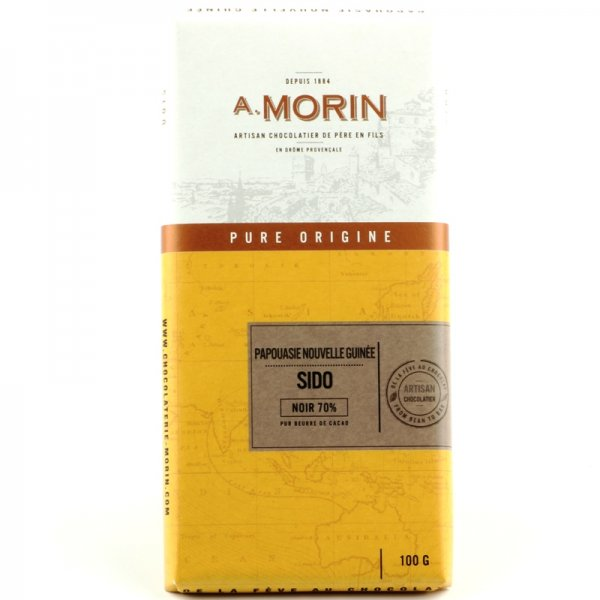 smoky papua new guinea cocoa chocolate with a particular taste morin france