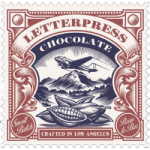 zeer kleinschalige mooie chocolade van letterpress usa