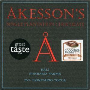 akesson's pure chocolade uit bali