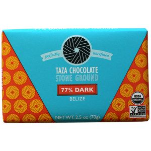 Taza belize 77% origine chocolade steengemalen