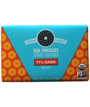Taza belize 77% origine chocolade steengemalen