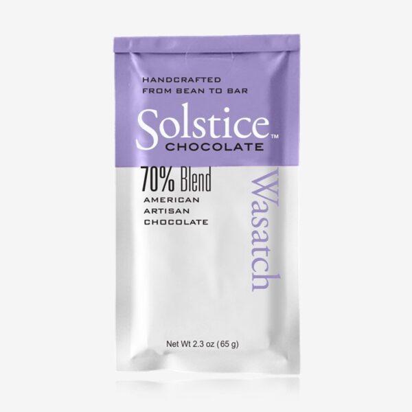 solstice blend chocolade 70 procent puur van solstice