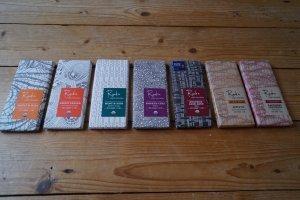 raaka veel chocolade repen van hoge kwaliteit met geweldige toevoeginen