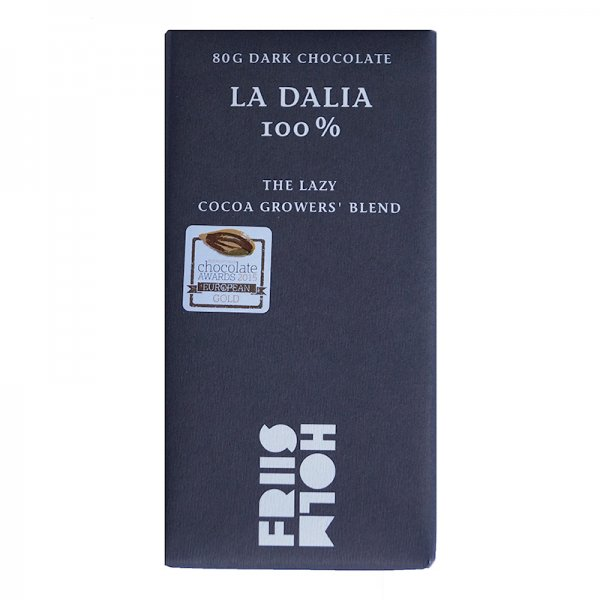 100% dark chocolate la dalia nicaragua by mikkel friis holm denmark bean to bar chocolatemaker