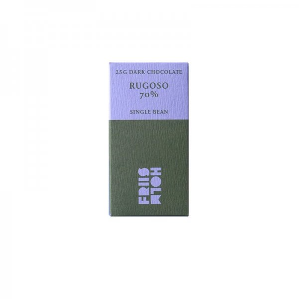 friis holm mini bar chocolate 25 gram tasting best chocolate rugoso friis holm