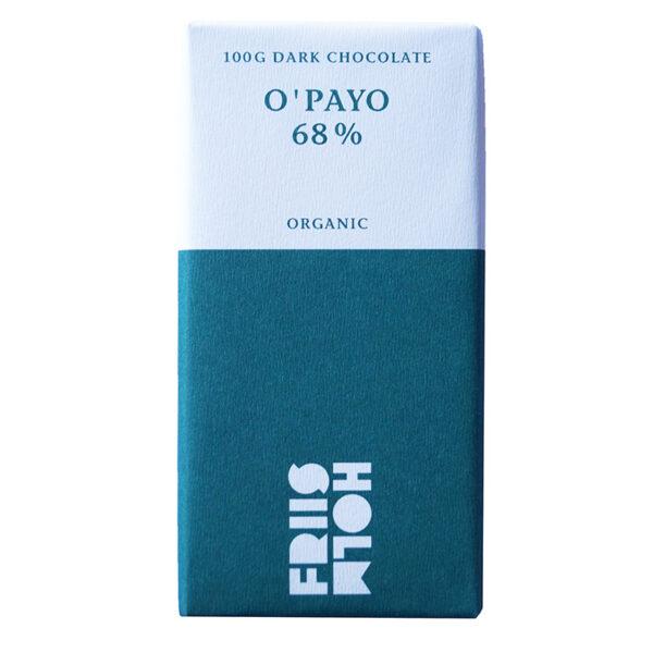 organic chocolate from friis holm o payo nicaragua
