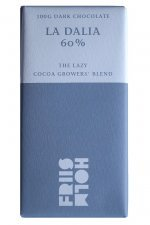 la dalia 60 light dark chocolate by friis holm