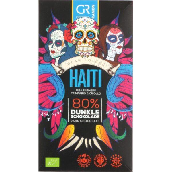 georgia ramon duitsland biologische cacao uit Haiti 80%