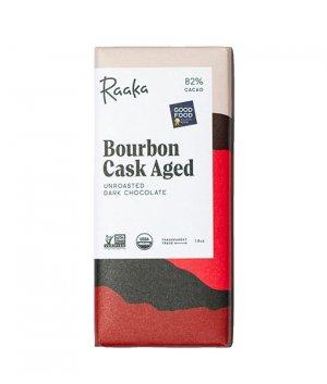 raaka bourbon cask aged chocolade biologisch