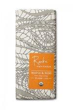 pure virgin raw chocolade met maple nibs raaka