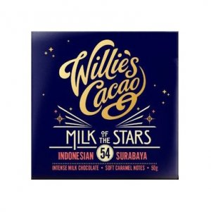 melkchocolade willies cacao 54 milk of the stars