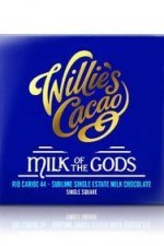 milk of the gods willie's cacao venezuela melkchocolade melk suiker cacao